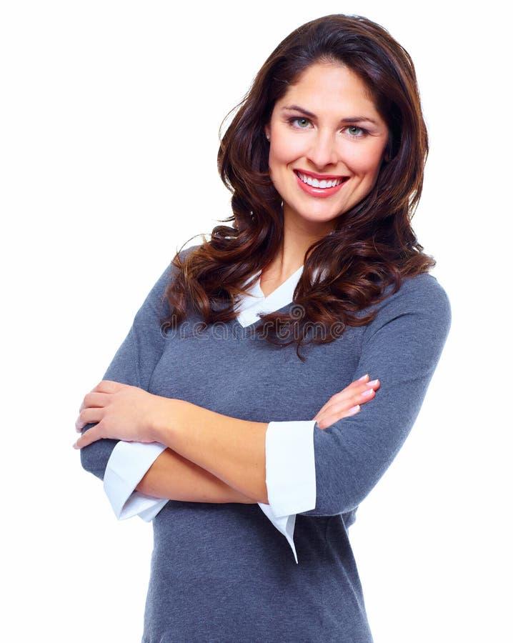 Бизнес-леди. стоковое изображение