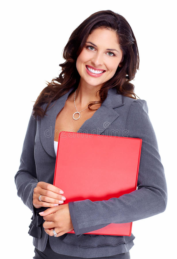 Бизнес-леди. стоковое изображение rf