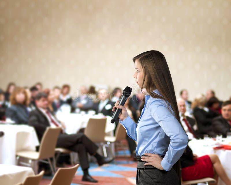 Бизнес-конференция стоковые фото