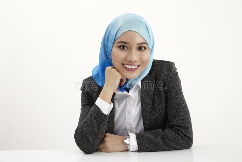 Бизнес-леди Malay стоковые изображения