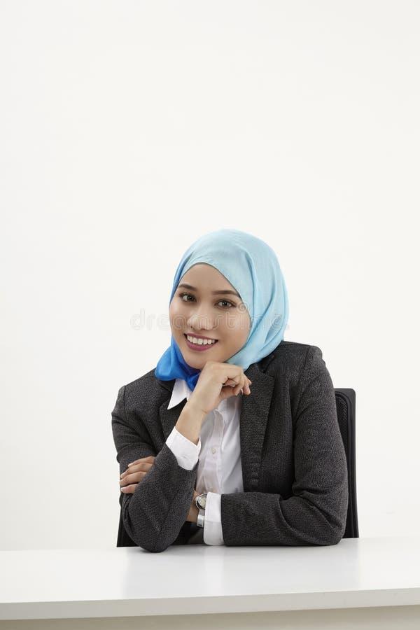 Бизнес-леди Malay стоковые фото