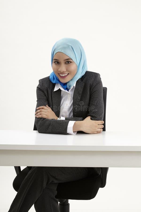 Бизнес-леди Malay стоковые изображения rf