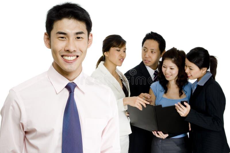 Бизнес лидер стоковая фотография