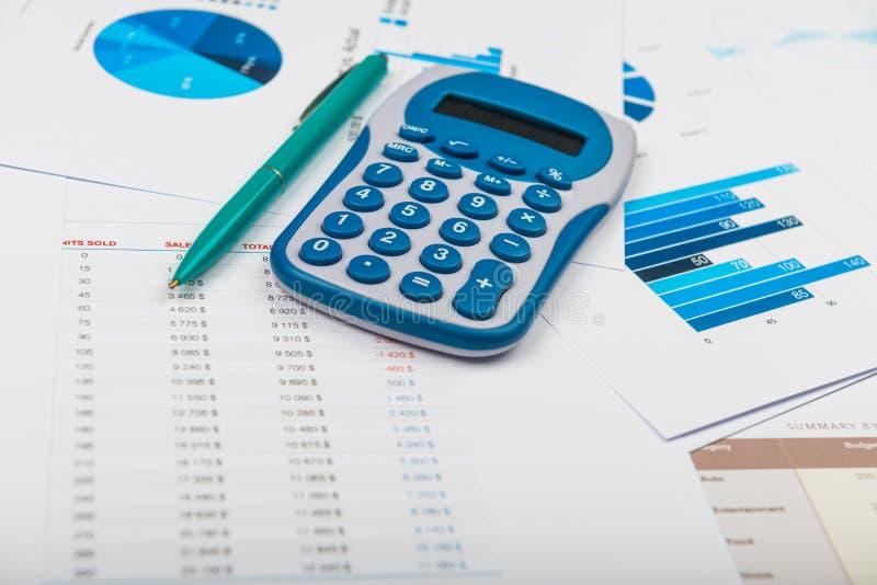 Бизнес-отчет стоковое изображение rf