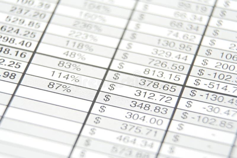 бизнес-отчет стоковое фото