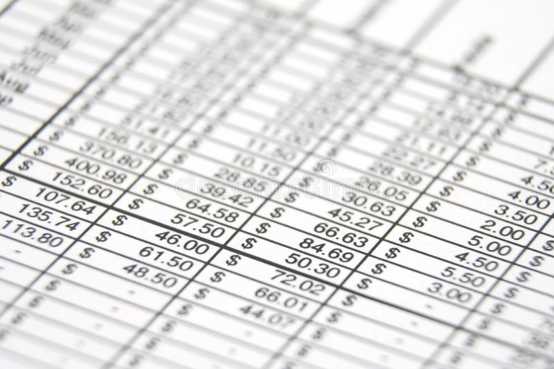 Бизнес-отчет стоковые изображения