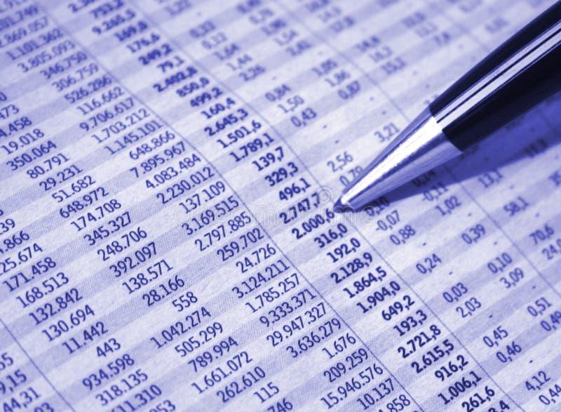 бизнес-отчет стоковая фотография