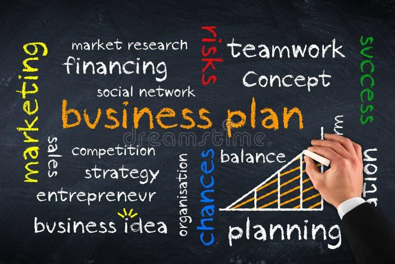 Бизнес-план стоковое фото rf
