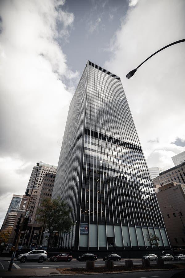 Бизнес-центр Монреаля стоковое фото