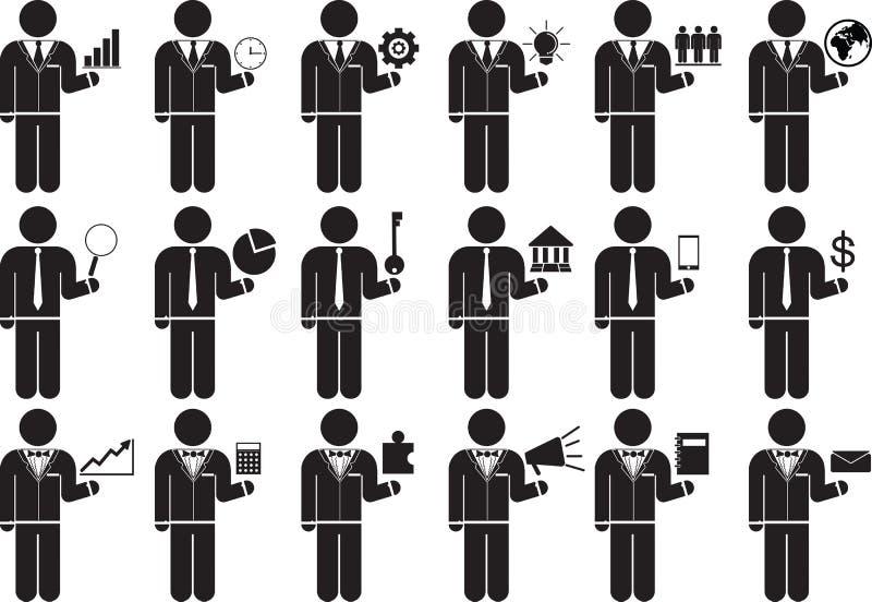 Бизнес иллюстрация вектора