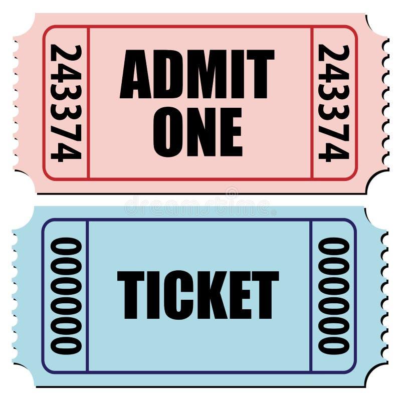 билеты Стоковое Изображение