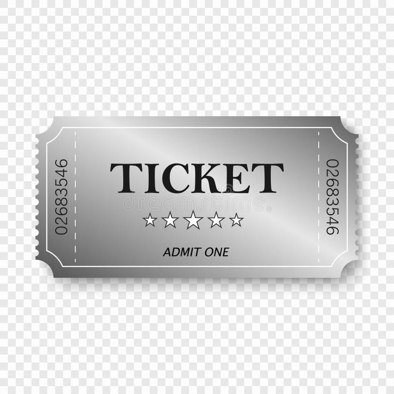 Билет входа бесплатная иллюстрация