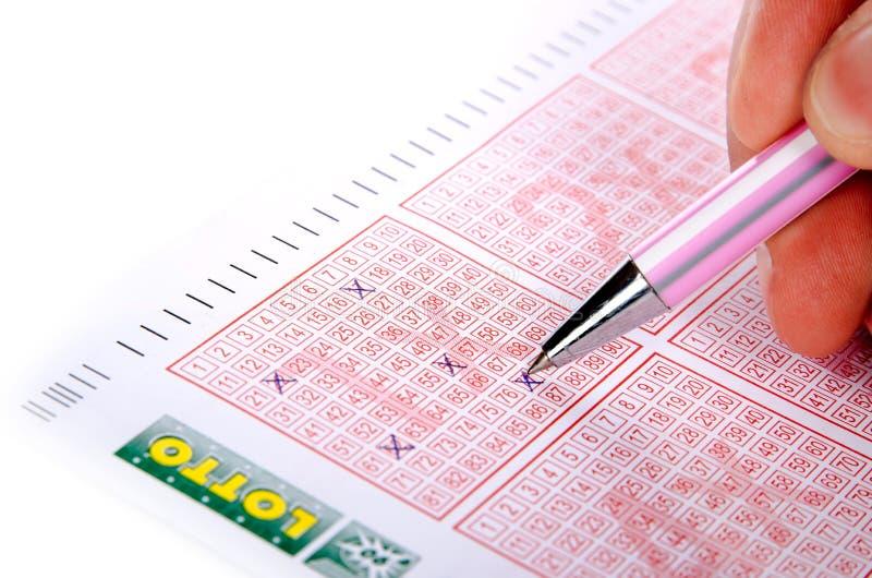 билет пер лотереи стоковые изображения