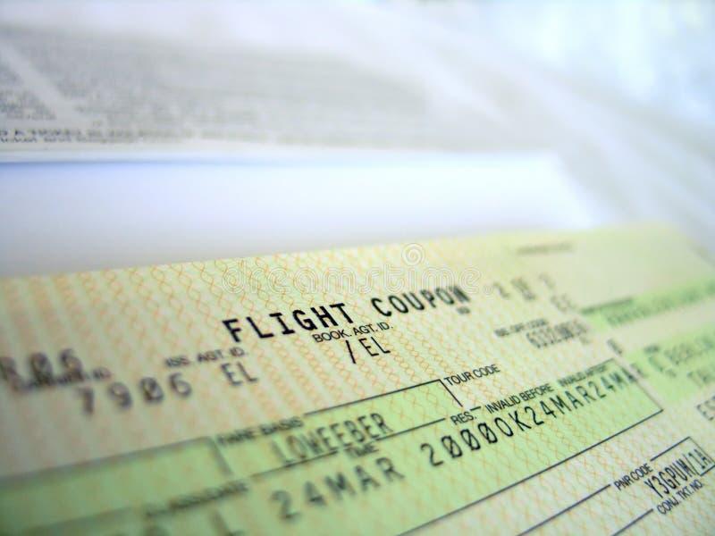 билет 3 полетов стоковые фотографии rf