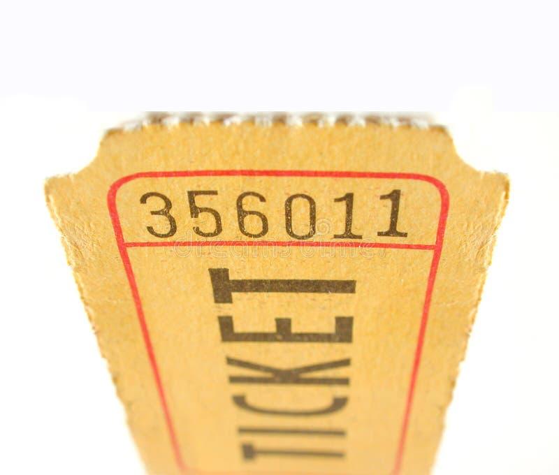 билет stub стоковые фотографии rf