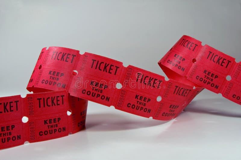 билет stubs стоковые фото
