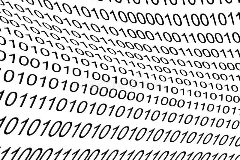 Бинарный код как предпосылка стоковое фото