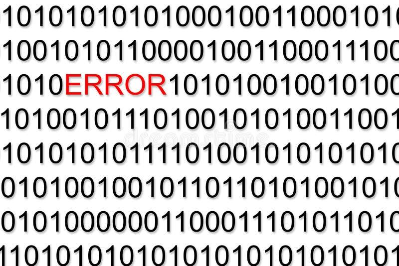 Бинарный код стоковое изображение rf
