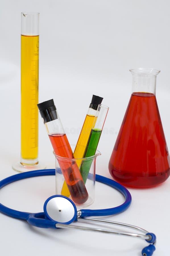 биомедицинские инструменты исследования стоковая фотография