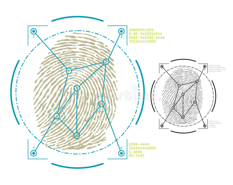 Биометрия бесплатная иллюстрация
