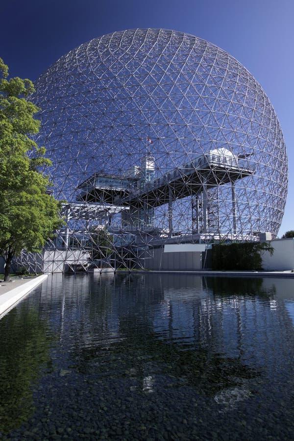 Биосфера - Монреаль - Канада стоковые изображения rf