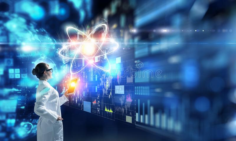 Биохимия и технологии Мультимедиа бесплатная иллюстрация