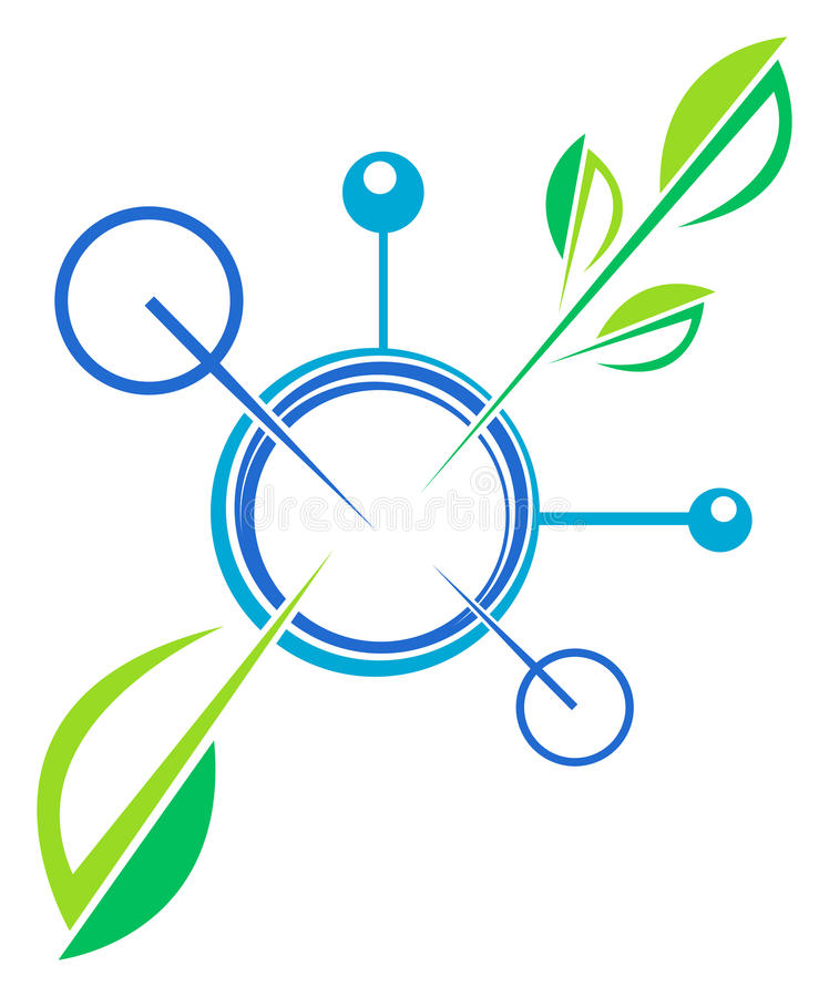 Био технология бесплатная иллюстрация