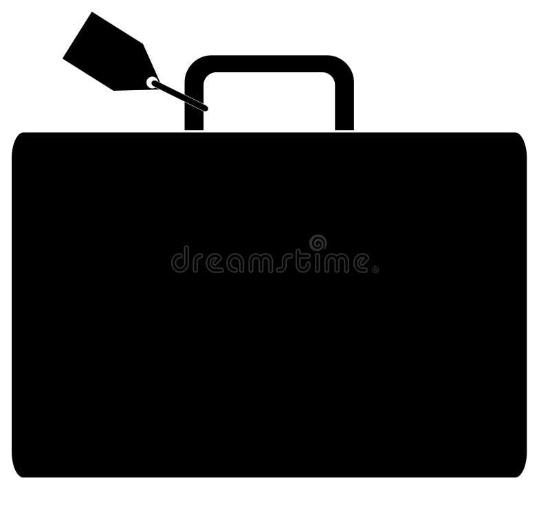 бирка багажа названная бесплатная иллюстрация