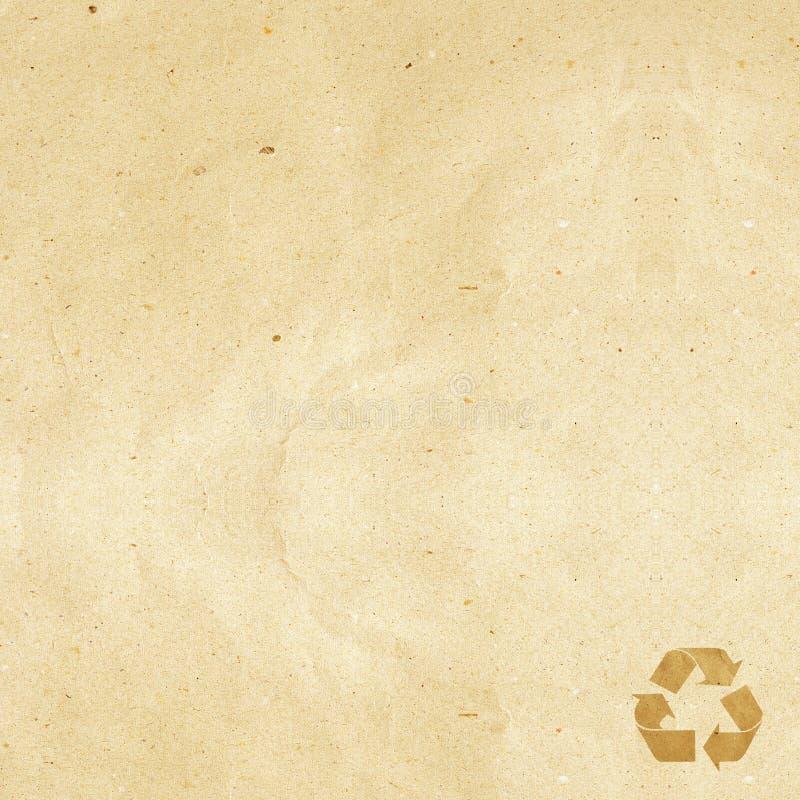 бирка корабля рециркулированная бумагой стоковые фото