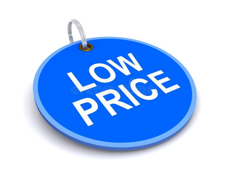 Бирка низкой цены стоковая фотография