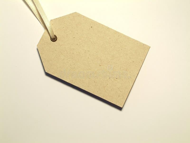 бирка подарка Стоковое фото RF