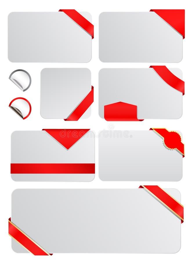 бирки иллюстрация штока
