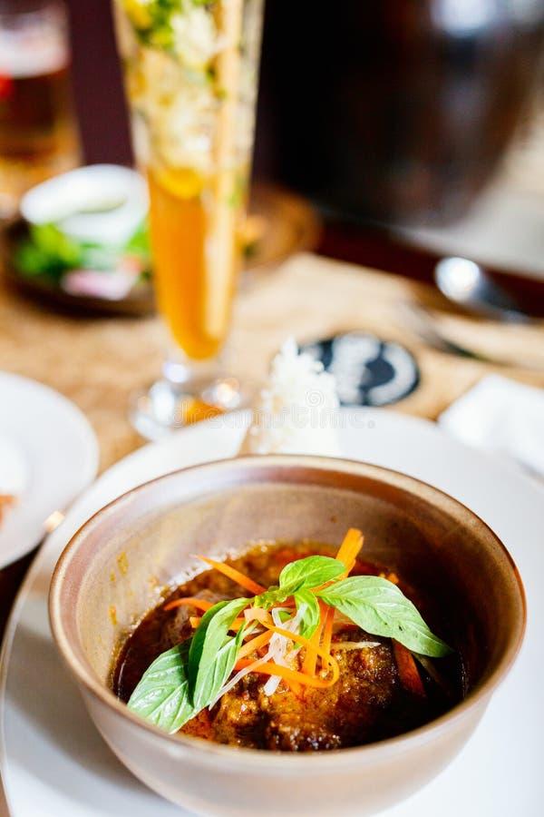 Бирманская еда стоковые фото