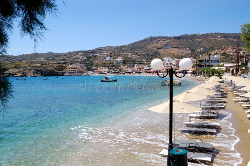 бирюза моря пляжа красивейшая стоковая фотография rf