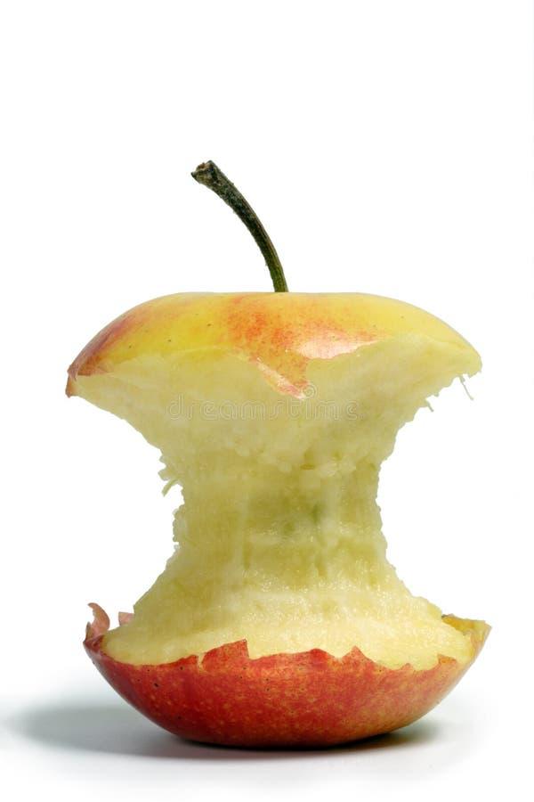 бит яблока стоковая фотография