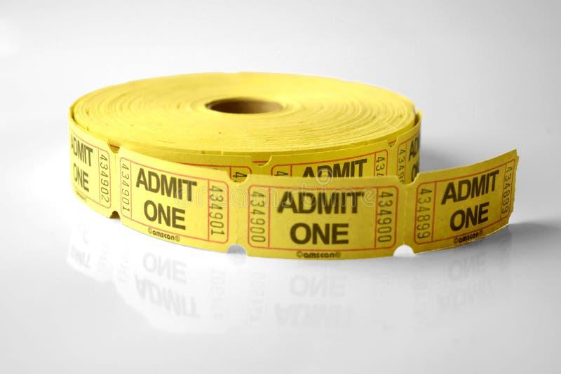 билеты стоковое фото