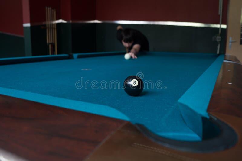Биллиард Matchball стоковое фото rf