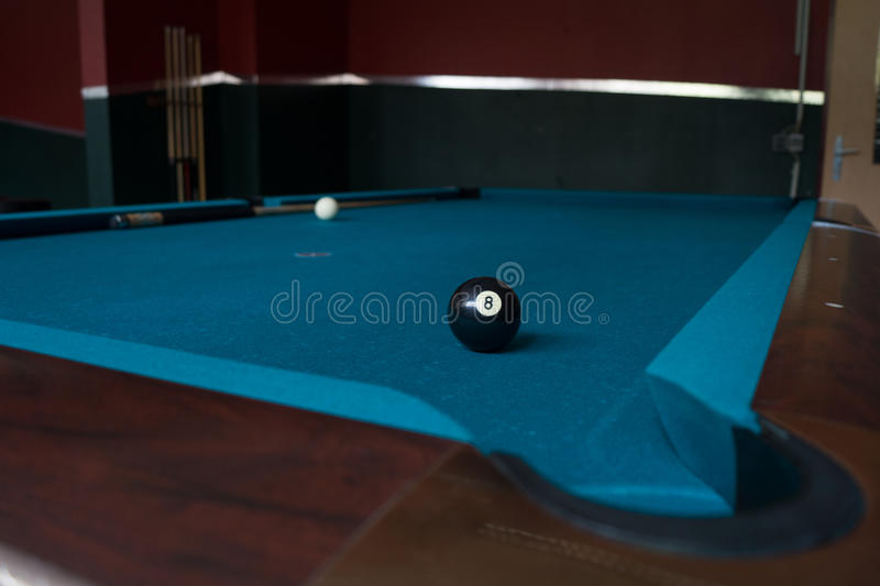 Биллиард Matchball стоковое фото