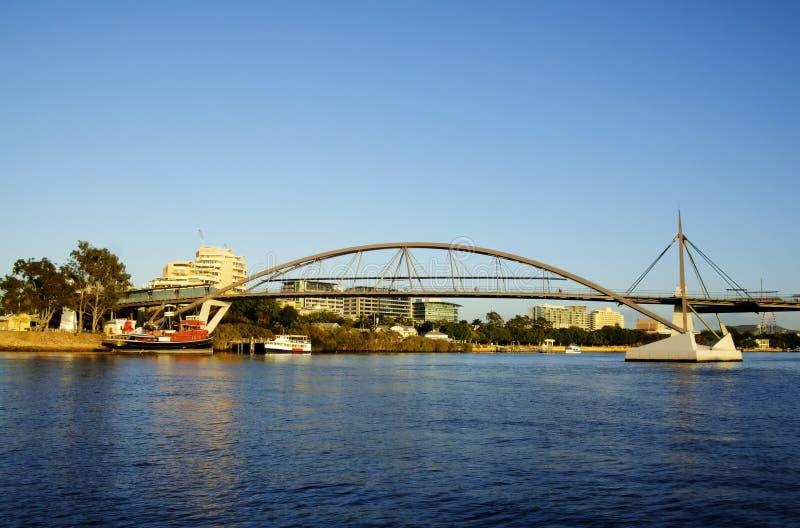 благоволение brisbane моста Австралии стоковые фото