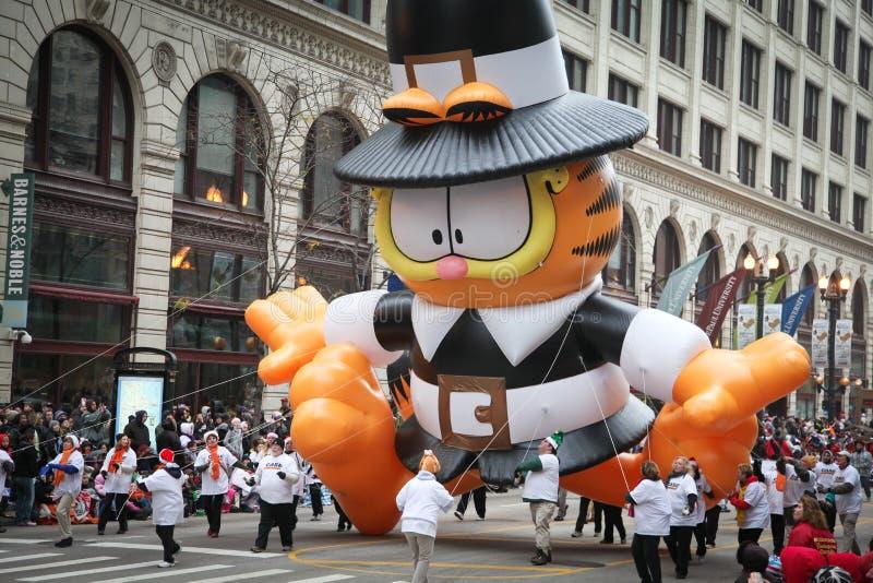 благодарение парада chicago стоковые изображения rf