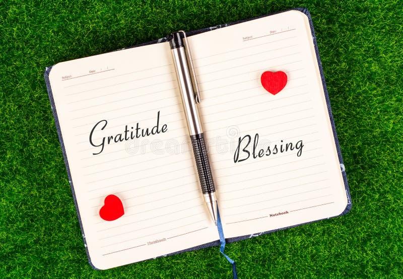 Благословение признательности равное стоковое фото