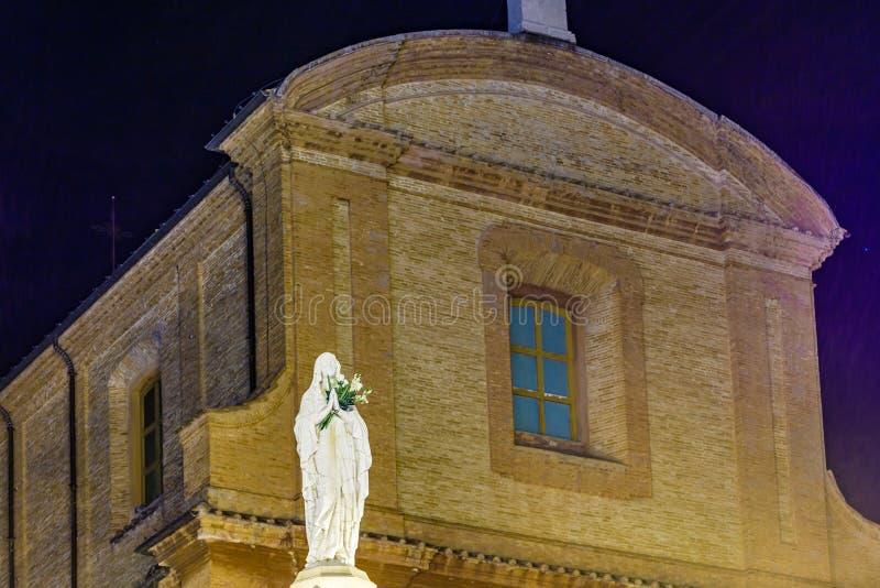 Благословленная дева мария стоковое изображение