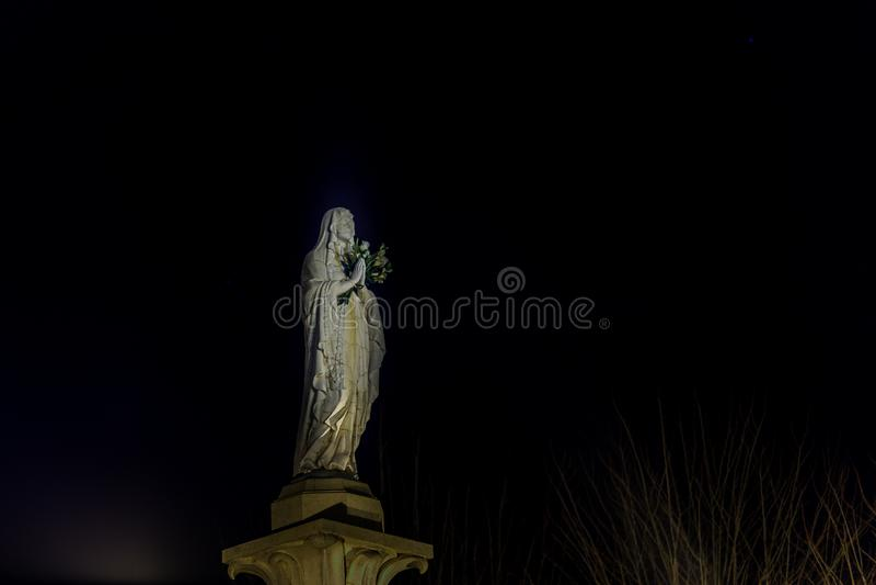 Благословленная дева мария стоковое фото