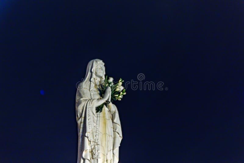 Благословленная дева мария стоковое изображение rf