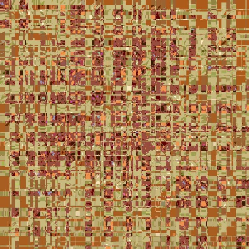 Бледная квадратная картина с сияющим влиянием иллюстрация вектора