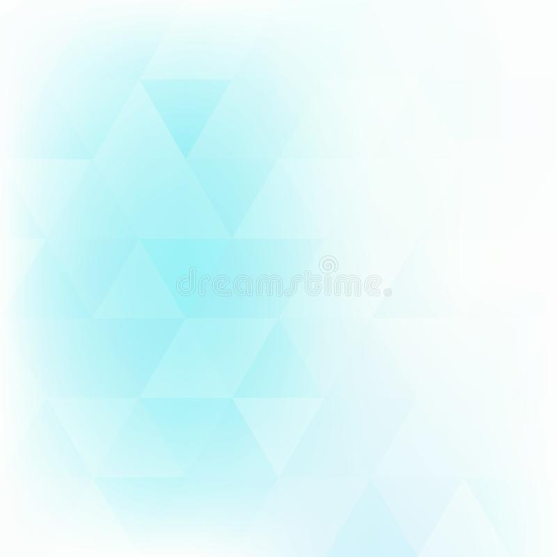 Бледная предпосылка бирюзы текстурированная треугольниками покрасьте вектор возможных вариантов картины различный бесплатная иллюстрация