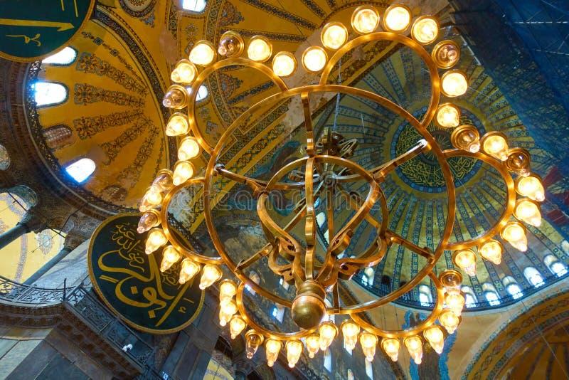 Блеск в Hagia Sophia стоковые фото