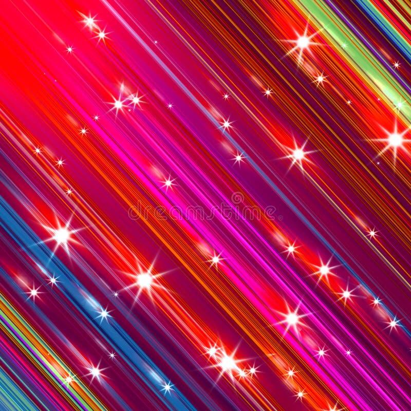 Блестящие звезды иллюстрация штока