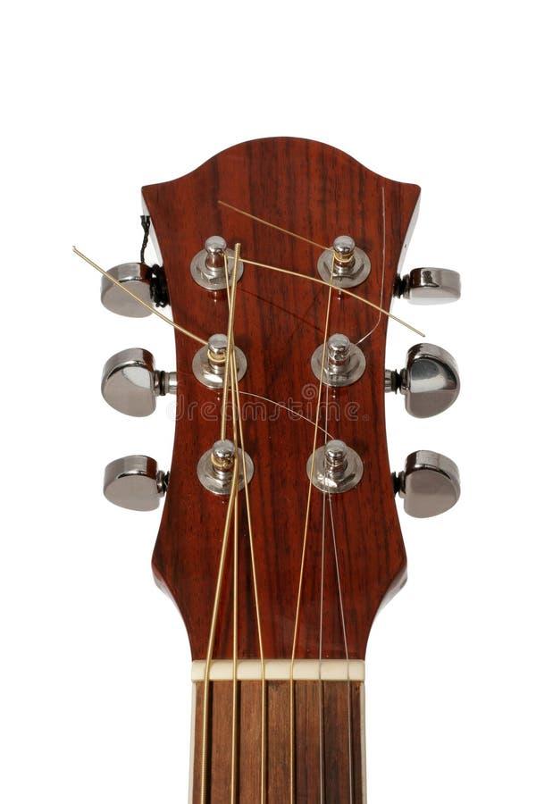 близкая гитара вверх стоковая фотография rf
