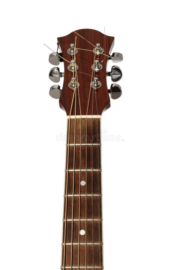 близкая гитара вверх стоковая фотография
